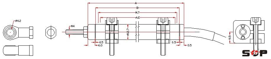 kpz微型拉杆位移传感器