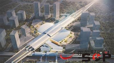 虎门高铁站就如一只展翅飞翔的蝴蝶