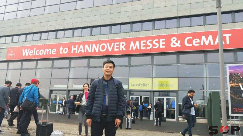 到达汉诺威